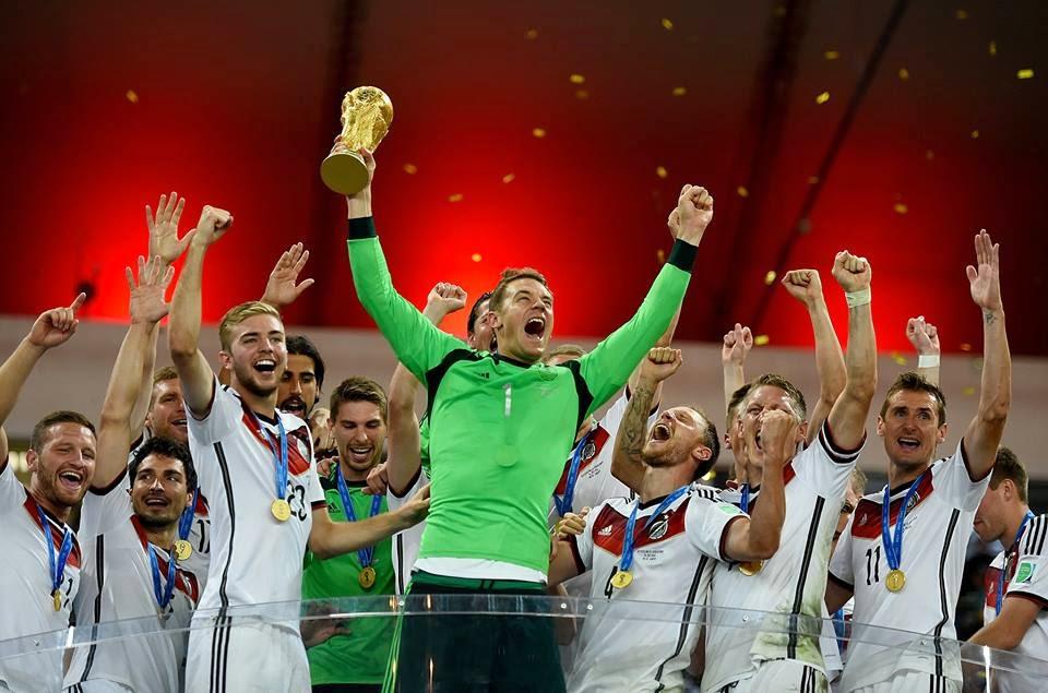 Alemania Campeona del Mundo 2014