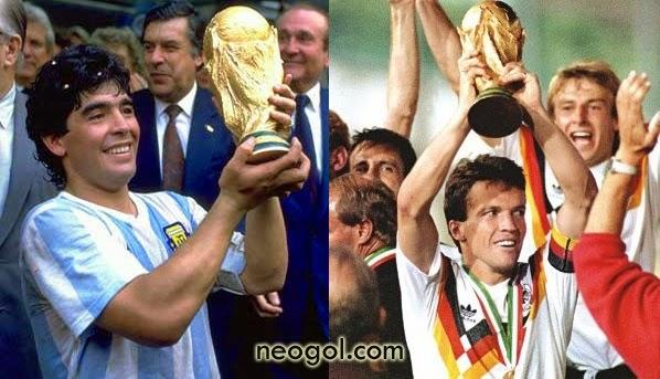 Argentina-Alemania Finales del Mundo