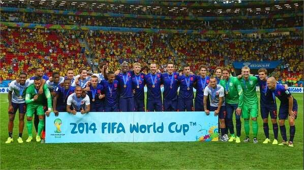 Holanda tercer puesto Mundial Brasil 2014