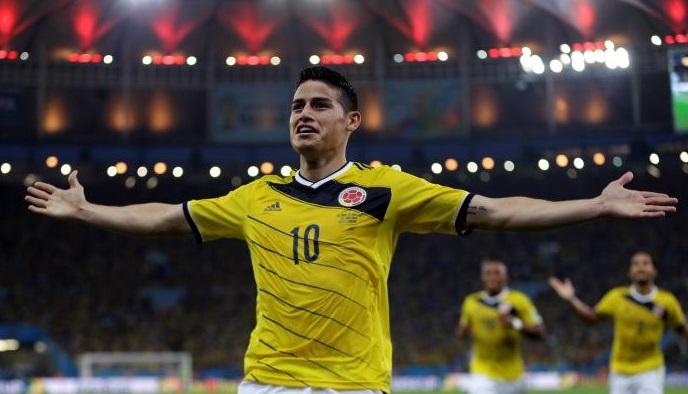 El gol de James Rodríguez el mejor del Mundial 2014