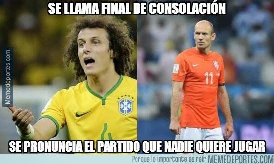 Los mejores memes y chistes de Brasil,Holanda Tercer puesto