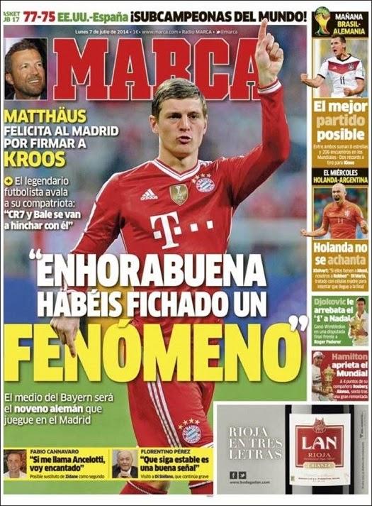 Kross ya es del madrid el bar a quiere a cuadrado las for Madrid sevilla marca