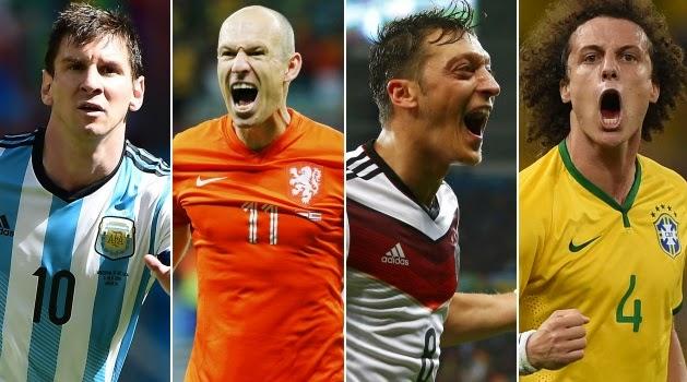 Horarios partidos martes 8 y miércoles 9 julio: Semifinales mundial brasil