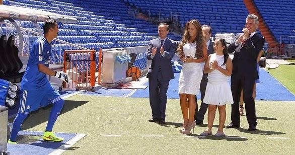 Keylor Navas ya es jugador del Real Madrid