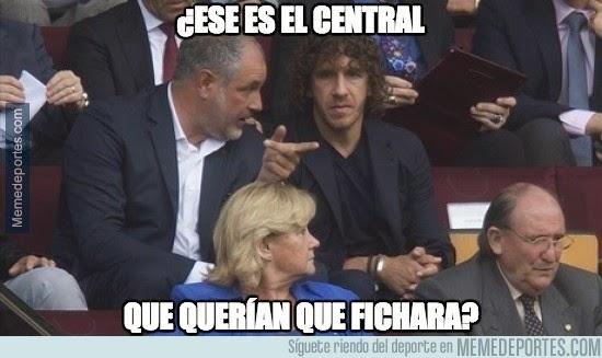 Los mejores memes del PSG-Barcelona; Champions 2014
