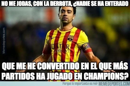 Los mejores memes del PSG-Barcelona: Champions xavi