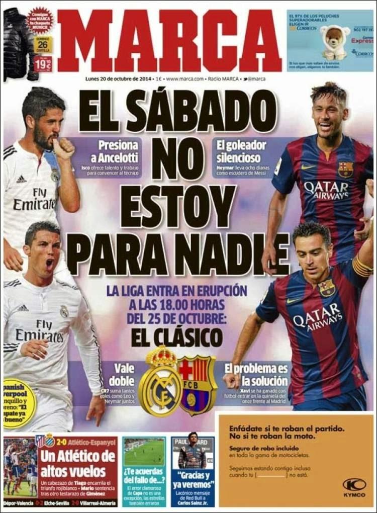 Se detiene el mundo del f tbol se viene el cl sico las for Madrid sevilla marca