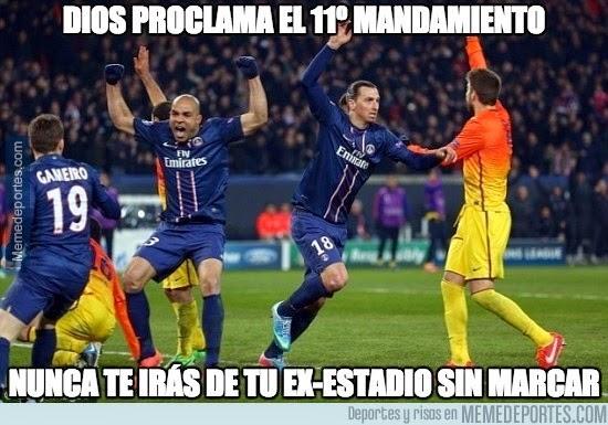 Los mejores memes del Barcelona-PSG: Champions
