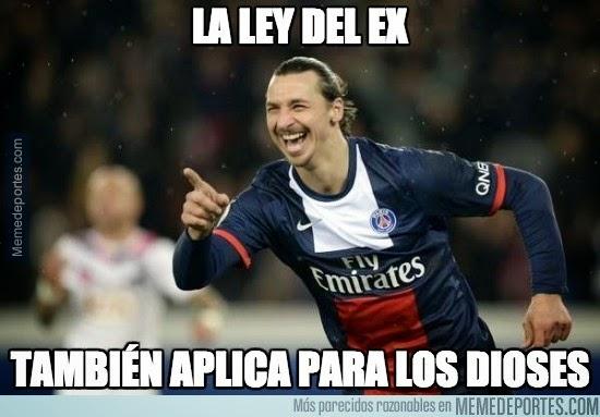 Los mejores memes del Barcelona-PSG: Champions  ibra
