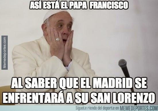 Los mejores memes del Cruz Azul-Real Madrid: Mundialito papa francisco