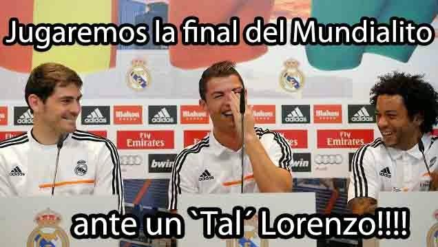 Los mejores memes Real Madrid-San Lorenzo:previa Mundialito tal lorenzo