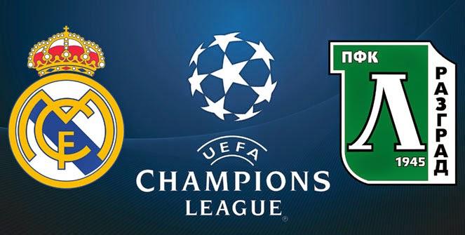Alineación Real Madrid-Ludogorets: Champions League 2014