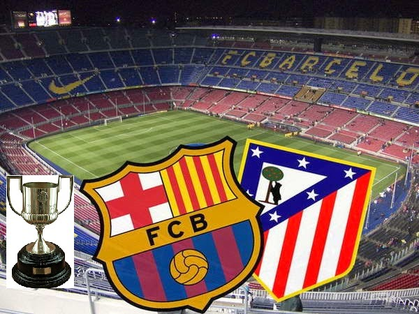 Alineación y la previa Barcelona-Atlético Madrid. Copa del Rey ...