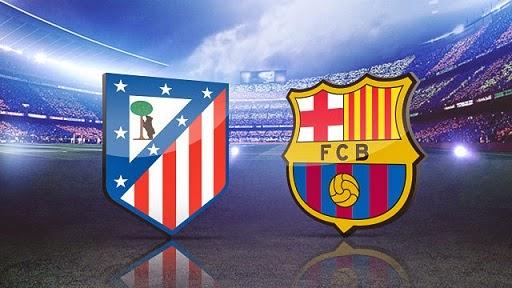 Alineación y la previa Atlético Madrid-Barcelona. Copa del Rey ...