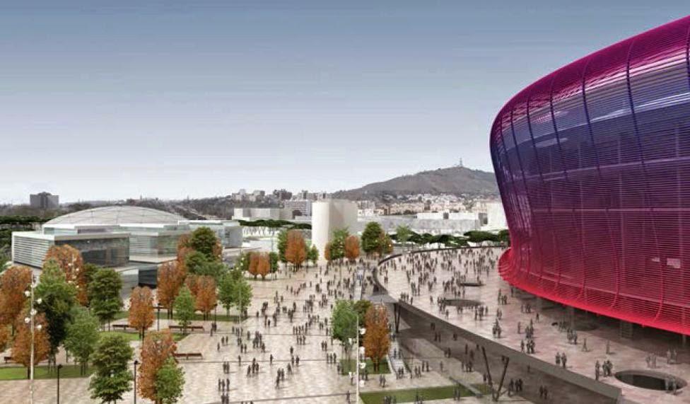 El nuevo estadio del FC Barcelona Nou Espai Barça