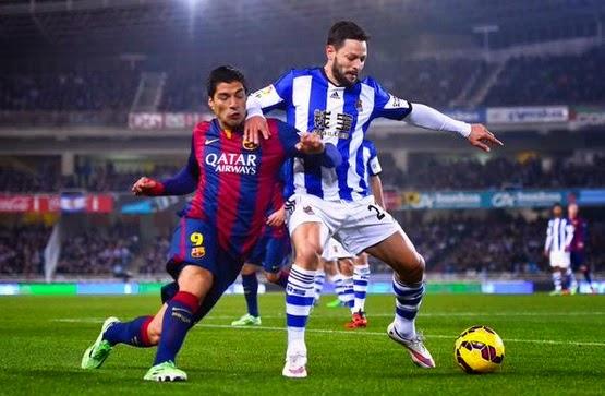 Real Sociedad 1-Barcelona 0. Jornada 17 Liga Española ...
