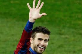 pique barcelona 5 real madrid 0