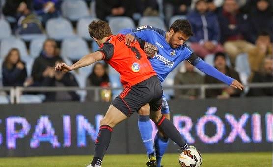 Getafe 0-Real Sociedad 1. Jornada 27 Liga Española