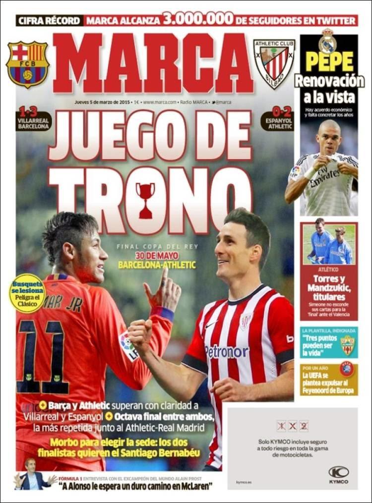 Final Copa Del Rey Barcelona Athletic Bilbao El 30 De Mayo