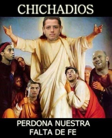 Los mejores memes del Real Madrid-Atlético: Champions CHICHADIOS perdona nuestra falta de fe chicharito