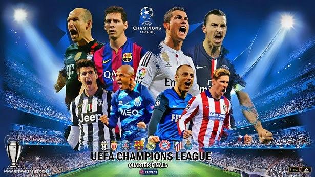 Cuartos Champions League 2015. Partidos de vuelta - Liga Española ...