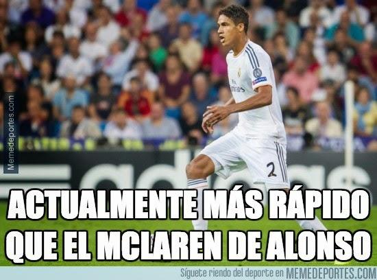 Los mejores memes del Atlético-Real Madrid: Champions varane