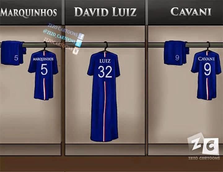 Los mejores memes del Barcelona-PSG: Cuartos Champions caño david luiz