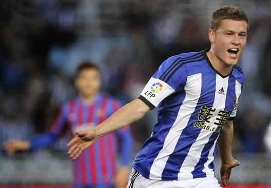 Real Sociedad 2-Levante 0. Jornada 35 Liga Española