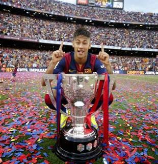 copa liga 2015 instagram neymar
