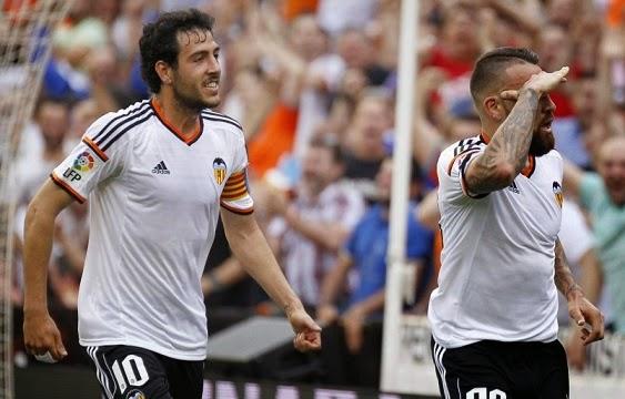 Valencia 3-Éibar 1. Jornada 35 Liga Española