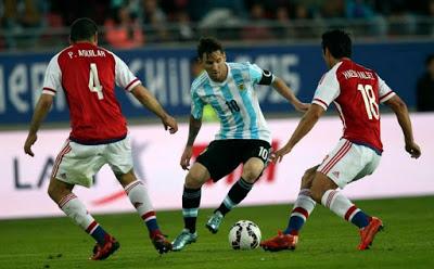 Argentina 2-Paraguay 2. Copa América 2015-Grupo B