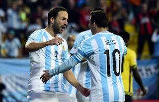 Argentina 1-Jamaica 0. Copa América 2015 Grupo B