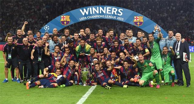 BARCELONA CAMPEÓN CHAMPIONS LEAGUE 2014-2015