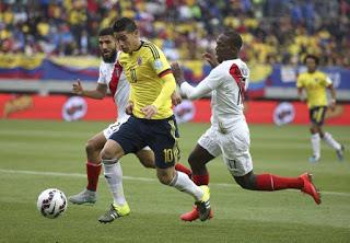 Colombia 0-Perú 0. Copa América 2015 Grupo C