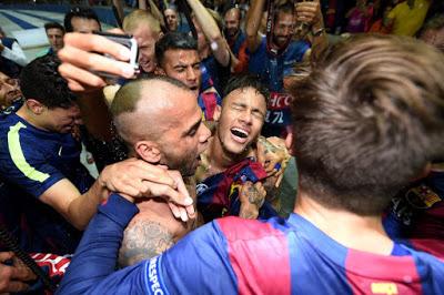 El festejo de la quinta Champions del Barça en imágenes