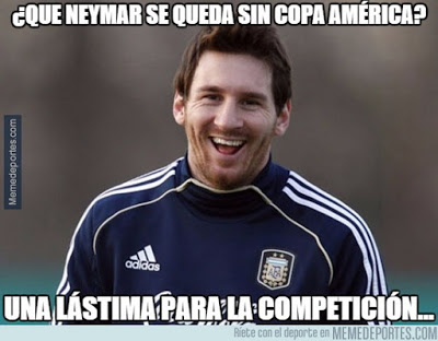 Argentina-Jamaica. Copa América  memes