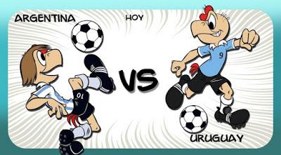Argentina-Uruguay. Copa América  condorito