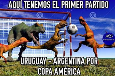 Los memes del argentina uruguay