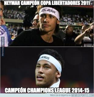 neymar Los mejores memes Juventus-Barcelona: Final Champions 2015
