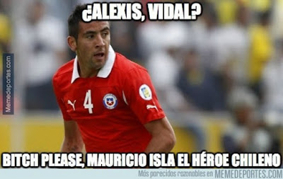 Los mejores memes del Chile-Uruguay. Copa América