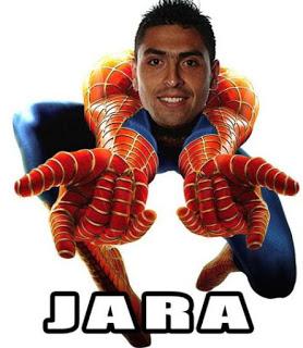 Los mejores memes del Chile-Uruguay. Copa América  jara spiderman