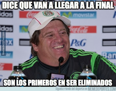 Los memes del México-Ecuador y Chile-Bolivia. Copa América - Liga Española 2018