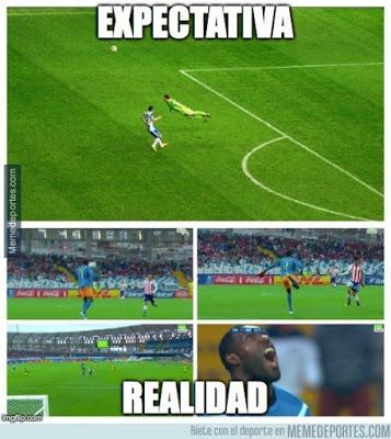Los memes del Argentina-Uruguay copa america