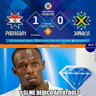 Los memes del Paraguay-Jamaica