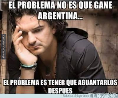 Los mejores memes del Chile-Argentina. Final Copa América arjona