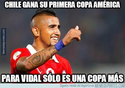 chile campeon copa america 2015 argentina vidal copa