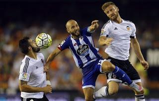 Valencia 1-Deportivo la Coruña 1. Jornada 2 Liga Española