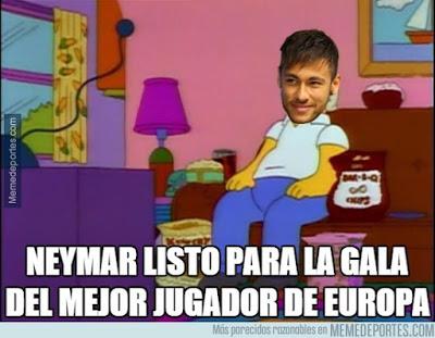 Los mejores memes del sorteo de Champions 2015: fase de grupos neymar