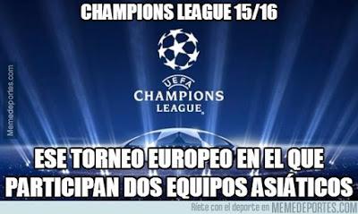 Los mejores memes del sorteo de Champions 2015: fase de grupos