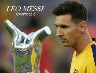 Lionel Messi agosto 2015: goles, jugadas y gambetas